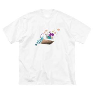 オズの魔法使い Big silhouette T-shirts