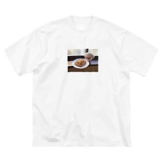 ナタリーとアップルパイ Big silhouette T-shirts