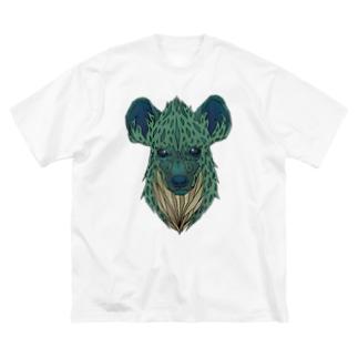 ハイエナ Big silhouette T-shirts
