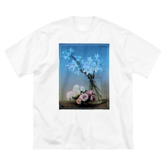 Roses and Lilies remix Big silhouette T-shirts