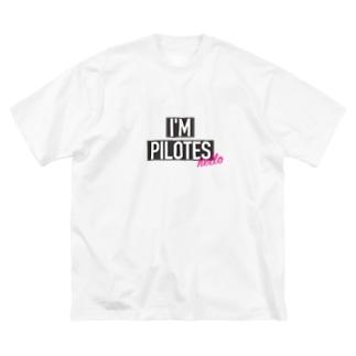 I'M GOD ピロテス Big silhouette T-shirts
