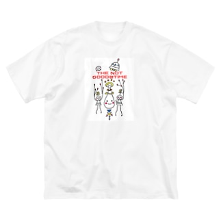THE NOT GOOD@TIME Big silhouette T-shirts