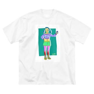 Neko suki Big silhouette T-shirts