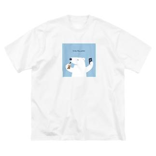 しろくま Big T-shirts