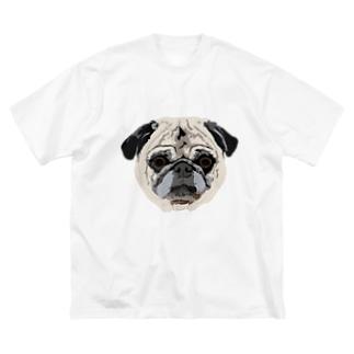 OCHAME Big silhouette T-shirts