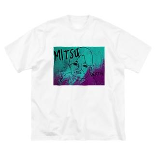 【ホリT】蜜です!悪魔バージョン Big silhouette T-shirts