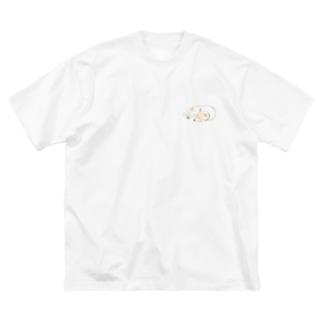 世界一可愛い犬 Big silhouette T-shirts