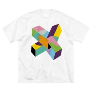 BIG ゴロT/a_006(トリミングシリーズ) Big silhouette T-shirts