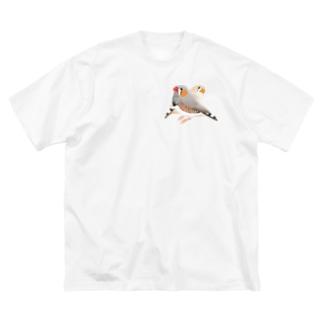 キンカペア Big silhouette T-shirts