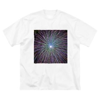 夏の思い出爆発 Big silhouette T-shirts