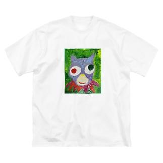 カラフルベアー Big silhouette T-shirts