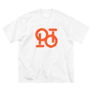 コンタクトポイ Big silhouette T-shirts