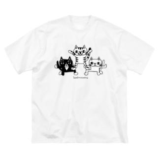 カッコいいポーズ Big-T-shirts Big silhouette T-shirts