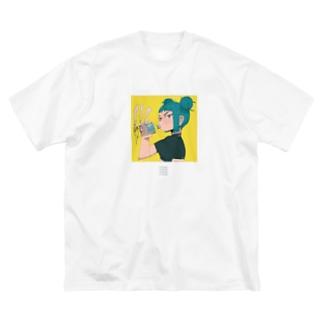 C10H14N2 Big silhouette T-shirts