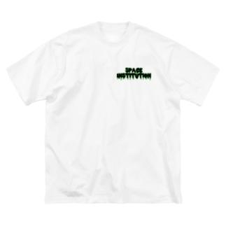 UFO小僧 Big silhouette T-shirts