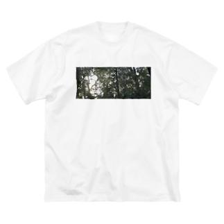 風の道 Big silhouette T-shirts