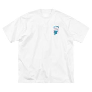 ホリデイカップル Big silhouette T-shirts