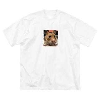 おすましてんちゃん Big silhouette T-shirts