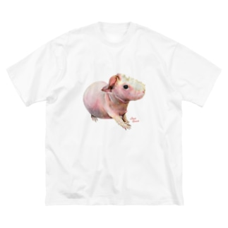 スキニーギニアピッグ Tシャツ Big Silhouette T-Shirt