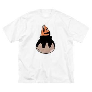 海のギャング Big silhouette T-shirts