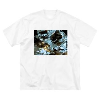 氷のキララ Big silhouette T-shirts