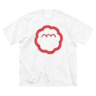 エンエンラ シンボルロゴ(赤) Big silhouette T-shirts