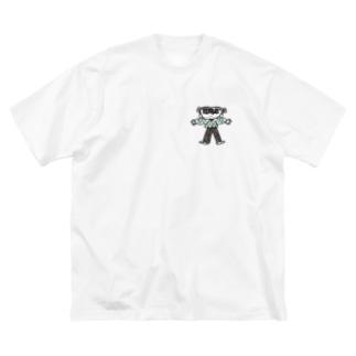 みのもまりかのクローバーガール Big silhouette T-shirts