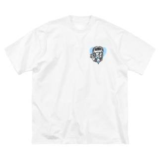 セクシーマスクGAL Big silhouette T-shirts