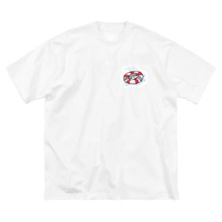 みのもまりかのsummer sloth Big silhouette T-shirts