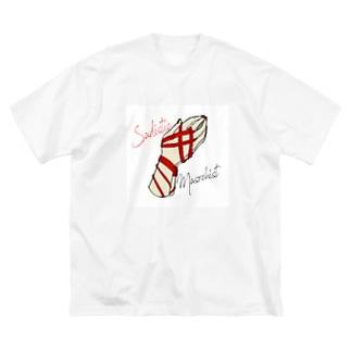 SM縛り Big silhouette T-shirts