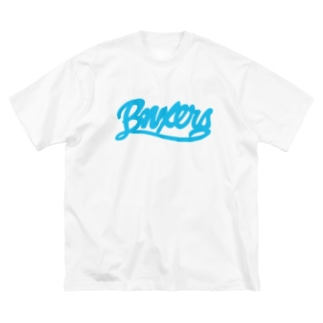 BNXERS T ロゴ Big silhouette T-shirts