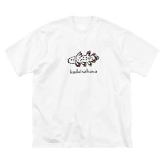 非ユークリッド幾何学を考える kodaisakanaのkodaisakana  ver.N Big silhouette T-shirts