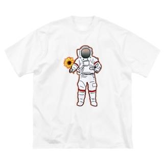 地球防衛隊! Big silhouette T-shirts