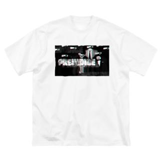 ハスガイのTシャツ Big silhouette T-shirts