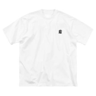 ラブのダミアン Big silhouette T-shirts