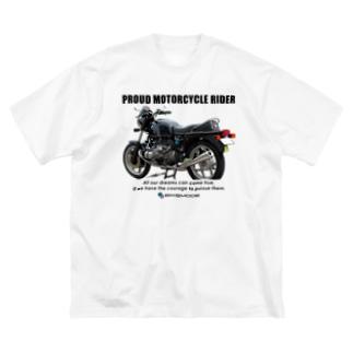 BMW R100 trad Tシャツ Big silhouette T-shirts