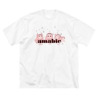 アマビエ様 Big silhouette T-shirts
