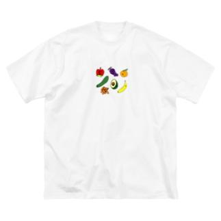 フルーツバスケット Big silhouette T-shirts