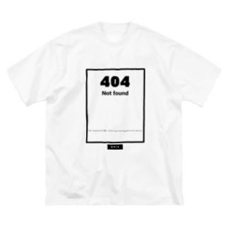 Not found Big silhouette T-shirts