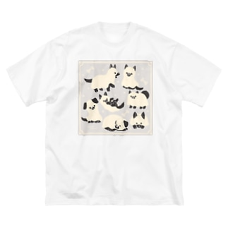Ghost dog Big silhouette T-shirts