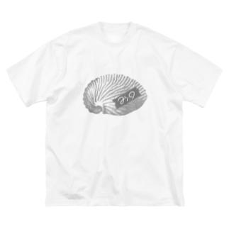 マシロ Big silhouette T-shirts