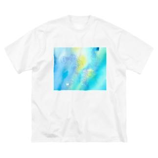 ギヤマンハナクラゲ Big silhouette T-shirts