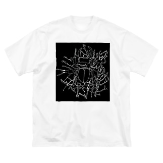 mushi•kuro Big silhouette T-shirts