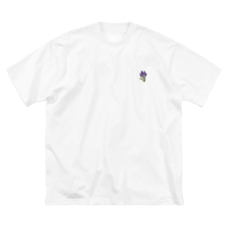 キキョウ Big silhouette T-shirts