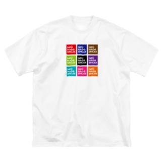 ナイプー9BOX Big silhouette T-shirts