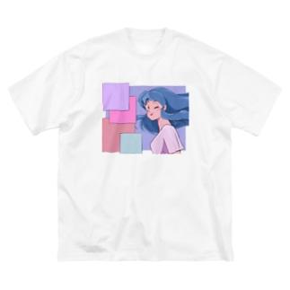 ラフ&ロード Big silhouette T-shirts