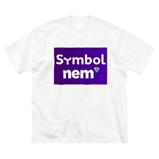 symbolnem大 Big silhouette T-shirts
