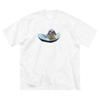 夏のラブくんTシャツ Big silhouette T-shirts