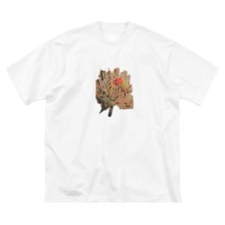 虚漏拿渦や浄化し 賜ふ蓮の華 ともぞうこころの俳句          Big silhouette T-shirts