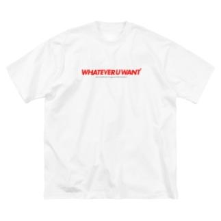 勝手にしやがれ Big silhouette T-shirts